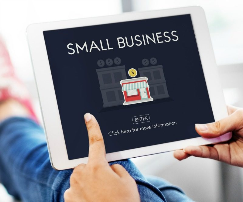 Small Business Website Image of Laptop Computer