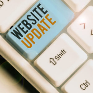 Updating Websites-button-on-keyboard